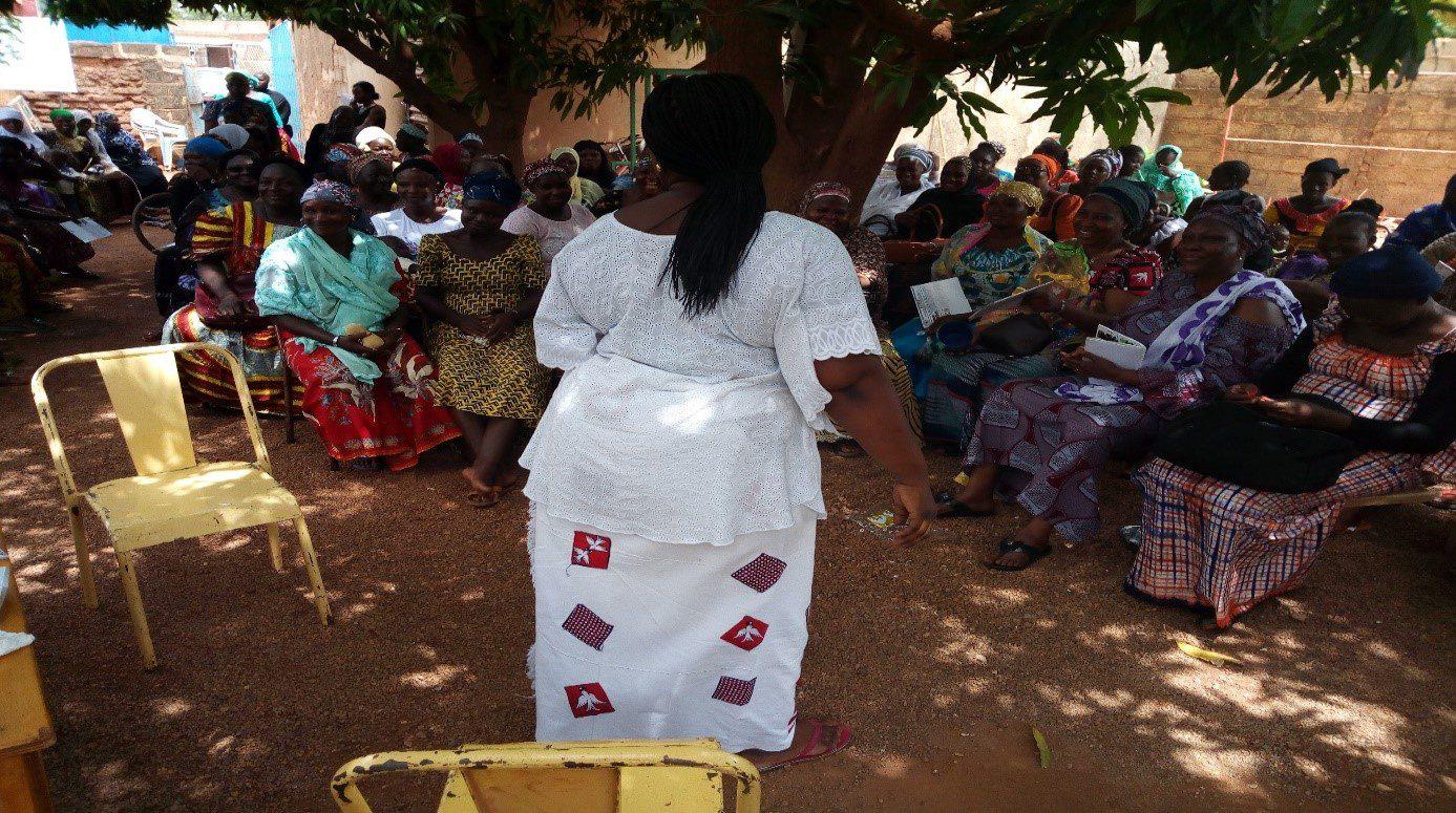 Projet de mobilisation des femmes pour leur  participation et leur représentation dans les instances politiques au Burkina Faso