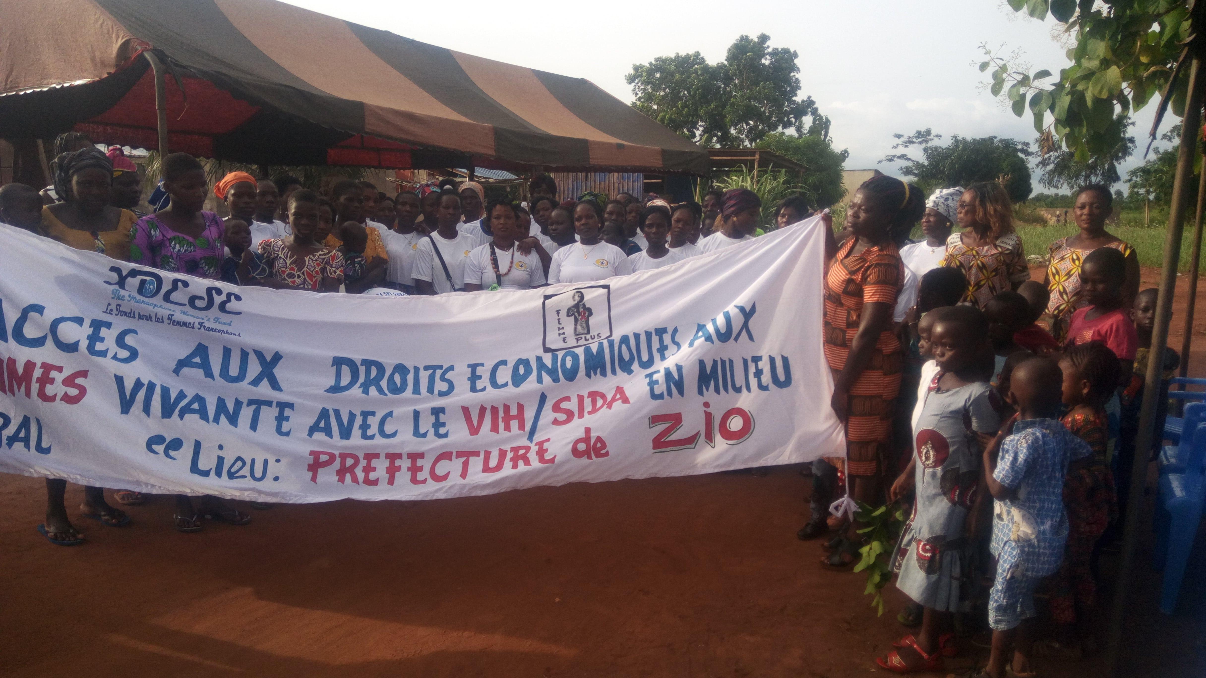 Accès aux droits économiques aux femmes vivant avec le VIH/SIDA en milieu rural
