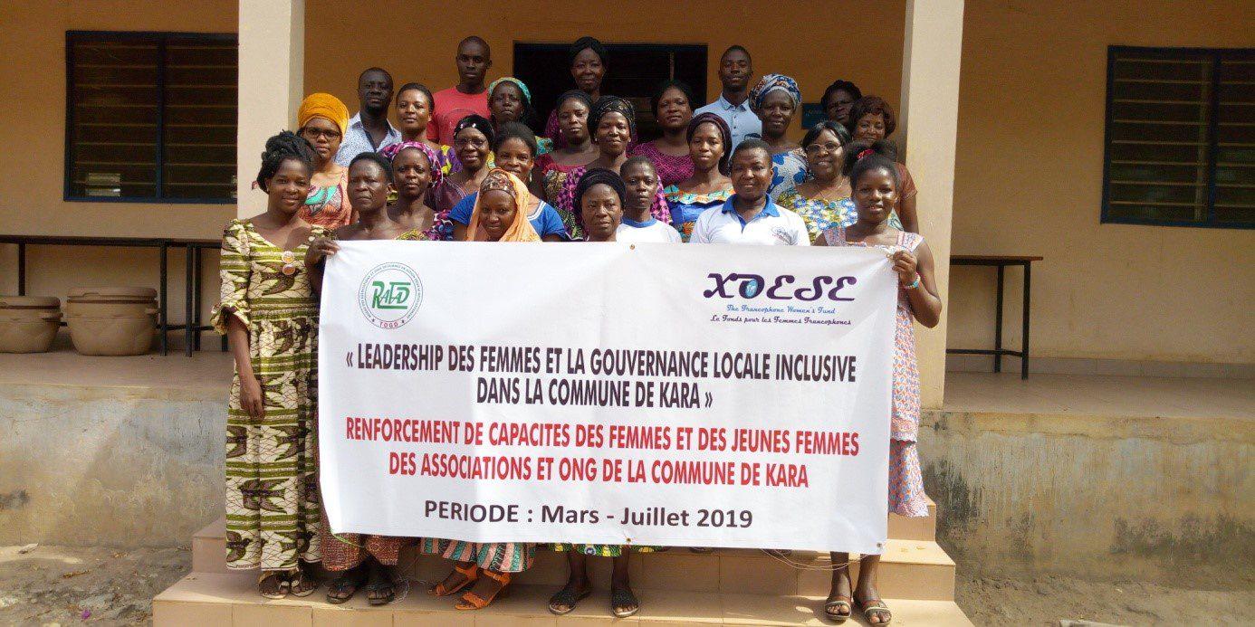 Leadership  des femmes et gouvernance locale inclusive dans la commune de Kara